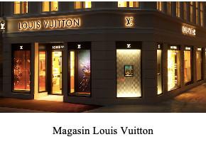 magasin Louis Vuitton service client